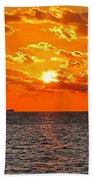 Key West Sunset 11 Bath Towel