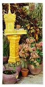 Khmer Shrine Bath Towel