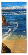 Kiama Beach Bath Towel