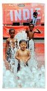 Kids Summer Fun Bath Towel