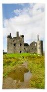 Kilchurn Castle 2 Bath Towel