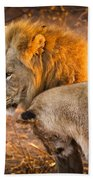 King And Queen Bath Towel