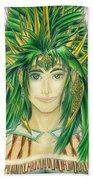 King Crai'riain Portrait Bath Towel