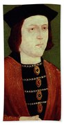 King Edward Iv Of England Bath Towel