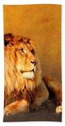 King Leo Bath Towel