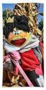 King Of Hearts Scarecrow By Diana Sainz Bath Towel