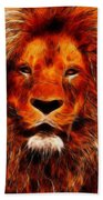 King Of The Jungle Bath Towel