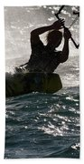 Kite Surfer 02 Bath Towel