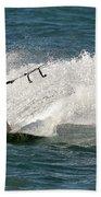 Kite Surfer 04 Bath Towel