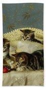 Kittens Up To Mischief Bath Towel