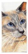 Kitty Kat Iphone Cases Smart Phones Cells And Mobile Cases Carole Spandau Cbs Art 346 Bath Towel