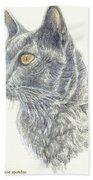 Kitty Kat Iphone Cases Smart Phones Cells And Mobile Cases Carole Spandau Cbs Art 347 Bath Towel