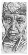 Klamath Woman Bath Towel