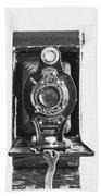 Kodak No. 2 Folding Autographic Brownie Camera Bath Towel