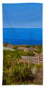 Kohala Coast Panorama Bath Towel