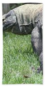 Komodo Dragon Bath Towel