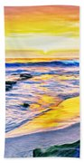 Kona Coast Sunset Bath Towel
