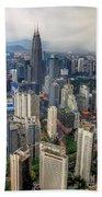 Kuala Lumpur City Bath Towel