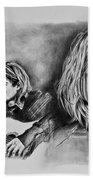 Kurt Cobain Bath Towel
