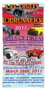 L C Rodrunner Car Show Poster Bath Towel