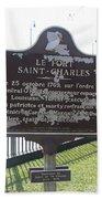 La-013 Le Fort Saint-charles Bath Towel