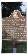 La-034 St. Emma Plantation Bath Towel