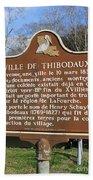 La-036 Ville De Thibodaux Bath Towel