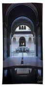 La Alhambra Patio De Los Leones Bath Towel
