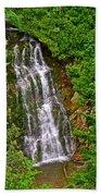 La Chute In Forillon Np-qc Bath Towel