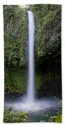 La Fortuna Waterfall  Bath Towel