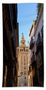 La Giralda - Seville Spain  Bath Towel