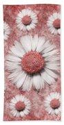 La Ronde Des Marguerites - Pink 02 Bath Towel
