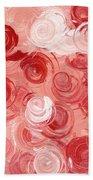 La Vie En Rose Bath Towel