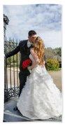Lacey And Adam Wedding 1 Bath Towel