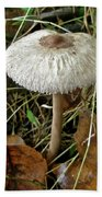 Lacy Parasol Mushroom Bath Towel
