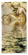Lady Bathing Bath Towel