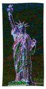 Lady Liberty 20130115 Bath Towel