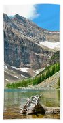 Lake Agnes In Banff Np-alberta Bath Towel