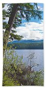 Lake Alva From National Forest Campground Site-yt Bath Towel