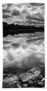 Lake Auburn Twilight Bath Towel