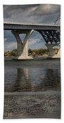 Lake Champlain Bridge Bath Towel