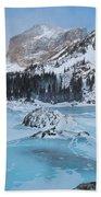Lake Haiyaha Winter Bath Towel