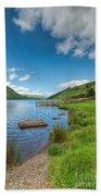 Lake In Wales Hand Towel