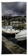Lake Maggiore Boats 1 Bath Towel