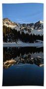 Lake Mary Brighton Utah Bath Towel