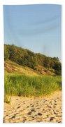 Lake Michigan Dunes 01 Bath Towel