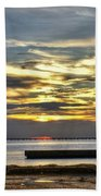 Lake Pontchartrain Sunset 2 Bath Towel