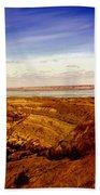Lake Sakakawea North Dakota Bath Towel