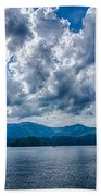 Lake Santeetlah In Great Smoky Mountains Nc Bath Towel