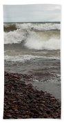 Lake Superior Surf Bath Towel